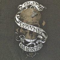 オールド・タウン・ゴースト スカル Tシャツ