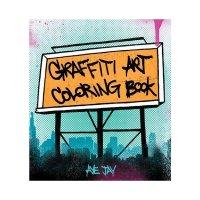 グラフィティ アート カラーリング ブック