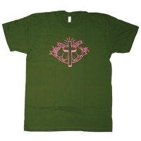 FOUR BOOBS GREEN Tシャツ