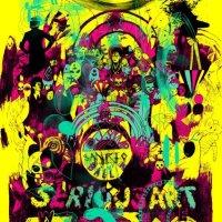 HARDLAND / HEARTLAND: SERIOUS ART PRINT